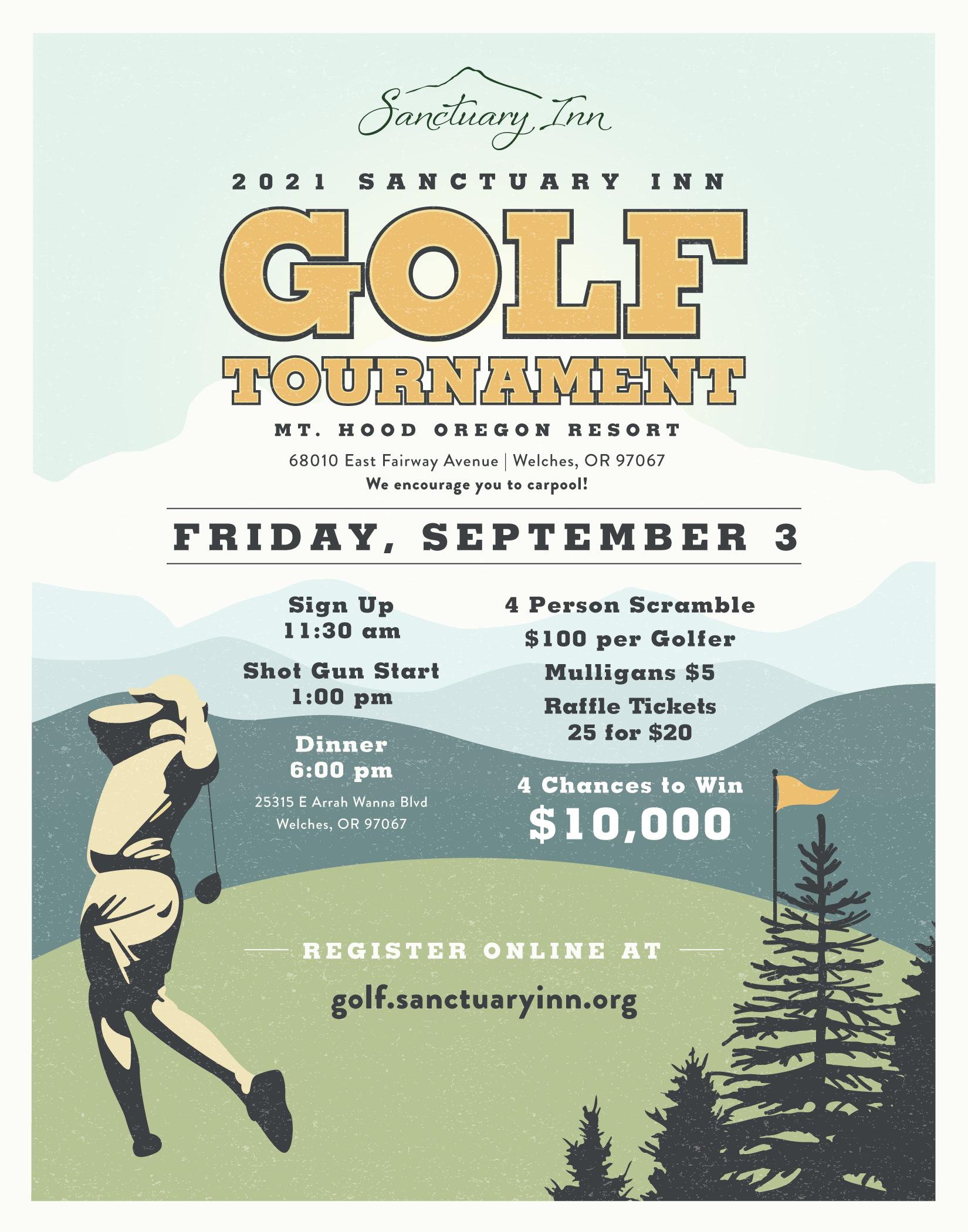 Sanctuary Inn Golf Tournament
