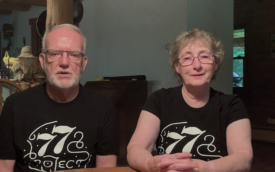 The Kleins share about their participation in the 77 Project.